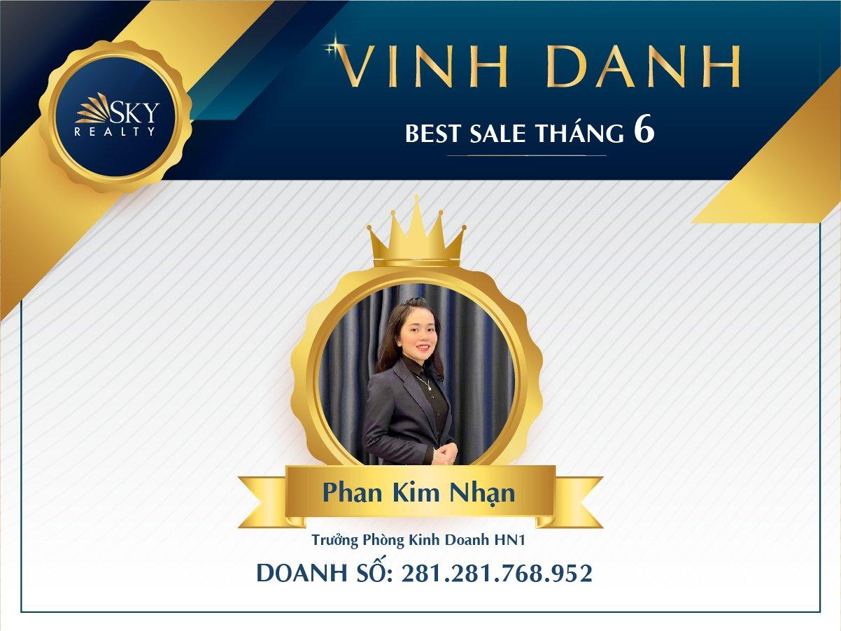 Chị Phan Kim Nhạn - Trưởng Phòng Kinh Doanh HN1
