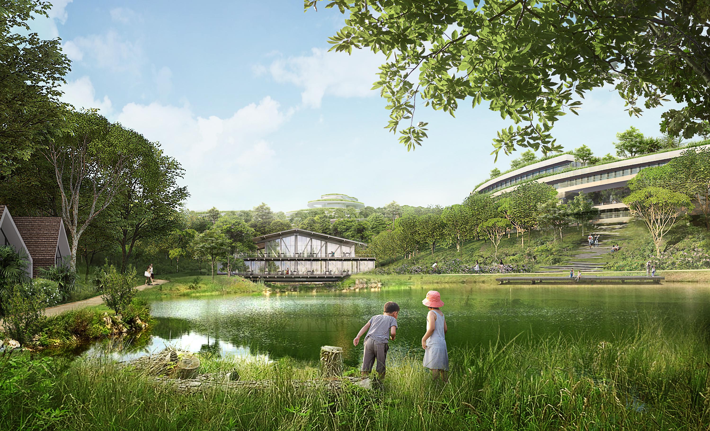 The Legacy Hill có lợi thế về cảnh quan thiên nhiên, giao thông thuận lợi.